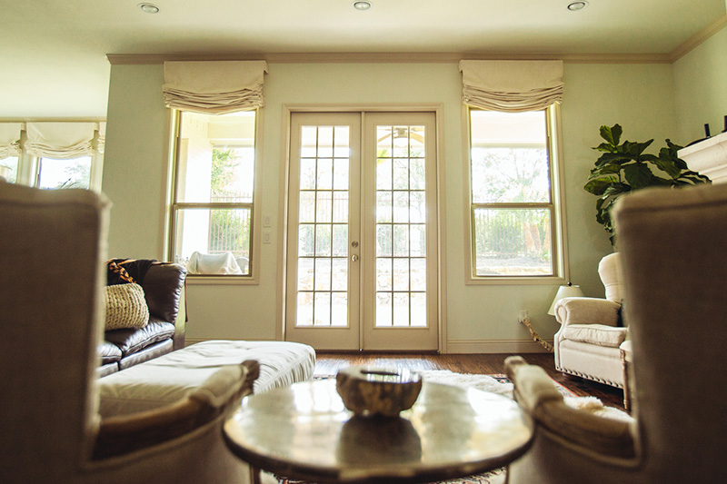 Roman Shades Dallas