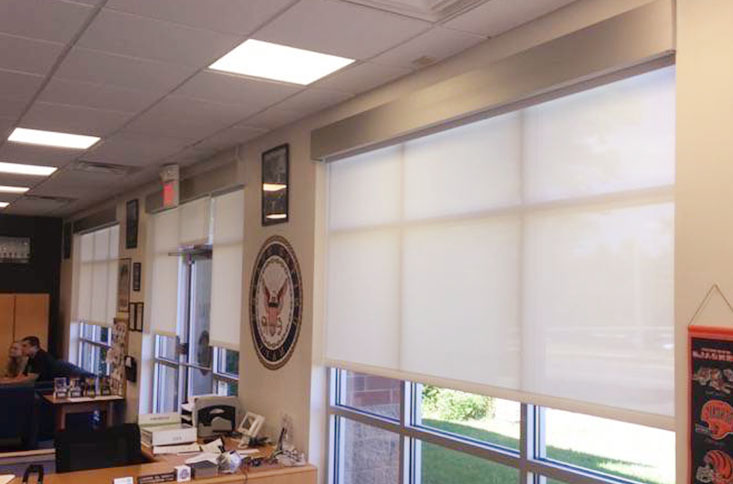 commercial blinds dallas fort worth